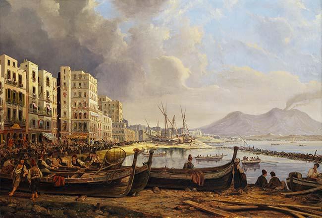 Vesuvius 1845