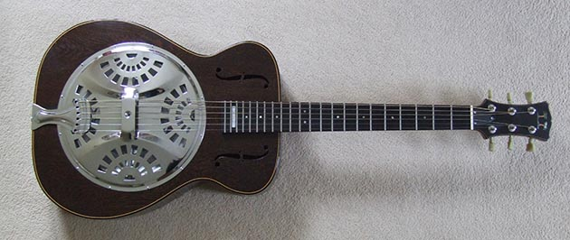 "Alvin Davies ""Pacific"" resonator, 1993"