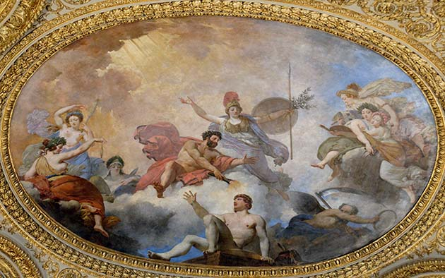 Prometheus creating man in the presence of Athena by Jean-Simon Berthélemy (1745-1811), Jean-Baptiste Mauzaisse (1784-1844) (Jastrow (2008)) [CC BY 2.5 (http://creativecommons.org/licenses/by/2.5)], via Wikimedia Commons