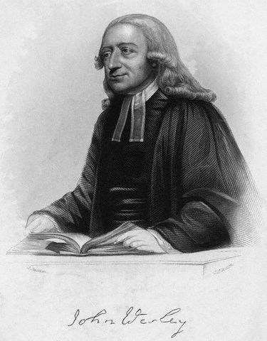 Portrait of John Wesley