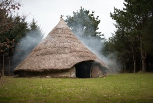 iron age house smoking